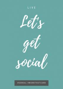 Let's get social - Live