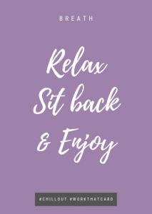 Relax sit back - Breath